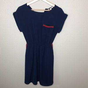 Sophia + zeke navy dress sz M